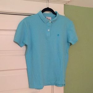 {Lilly Pulitzer} Blue Polo Shirt